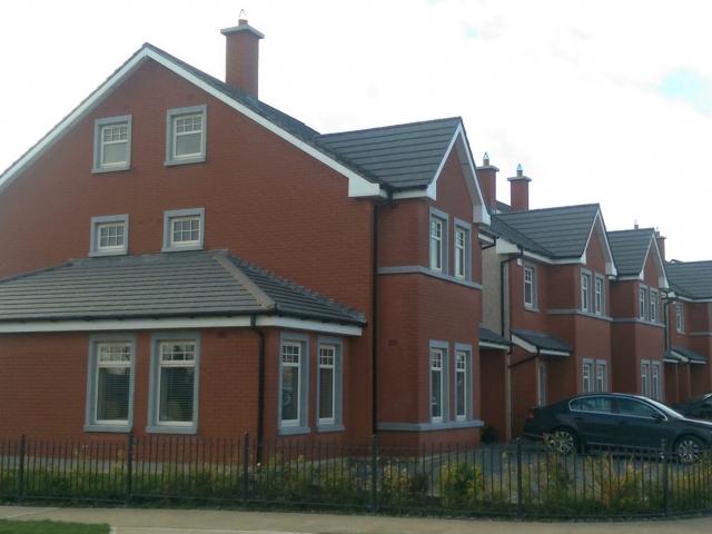 Murdock supply Roof Trusses to site in Balbriggan