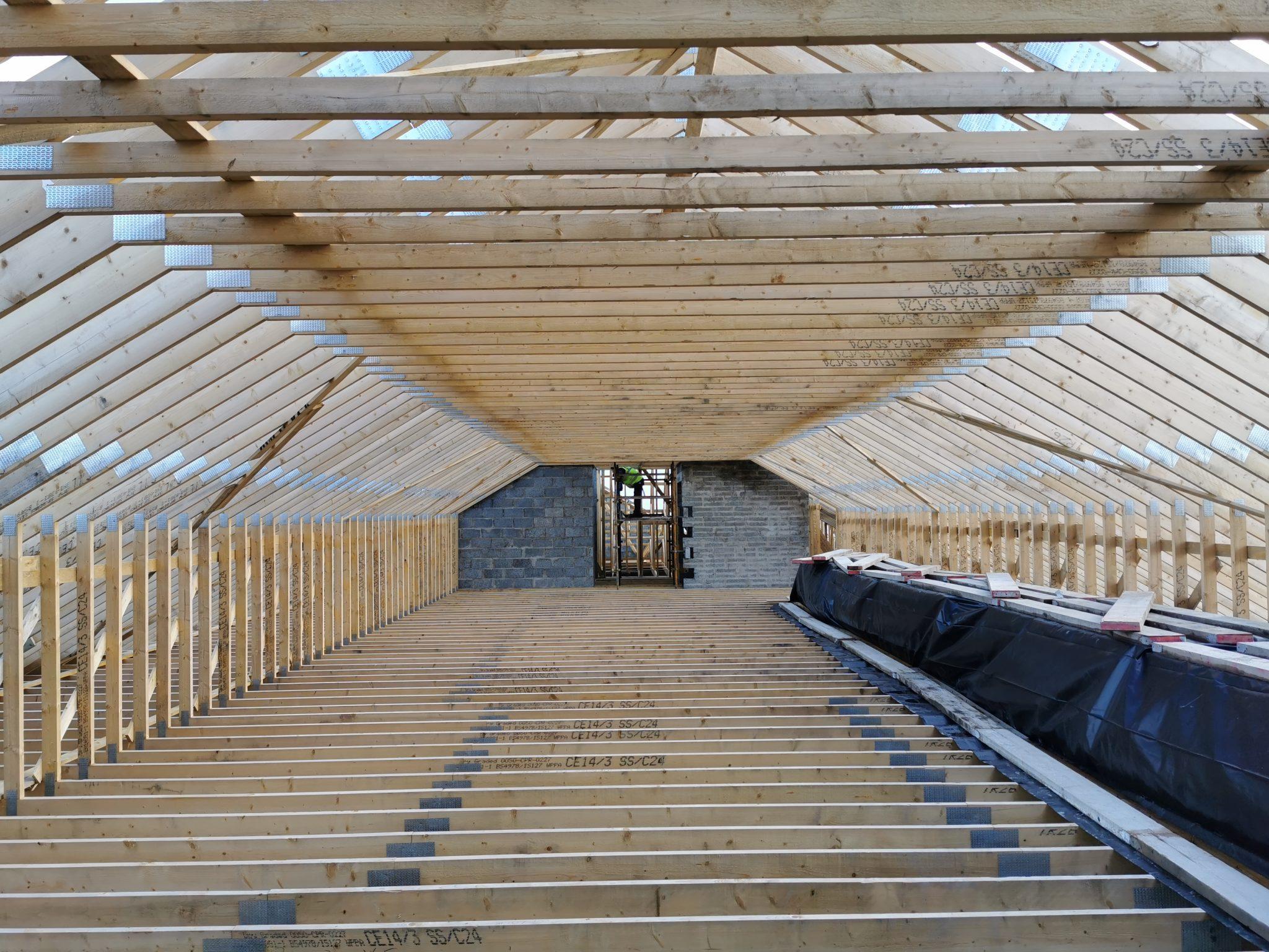 Attic Roof Trusses Northern Ireland
