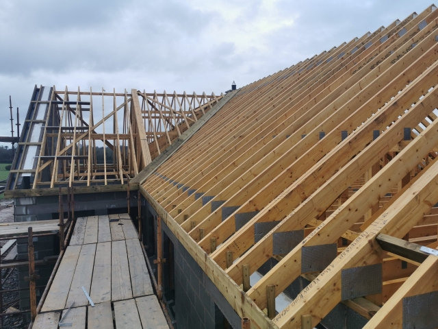Attic Roof Truss for private dwelling.