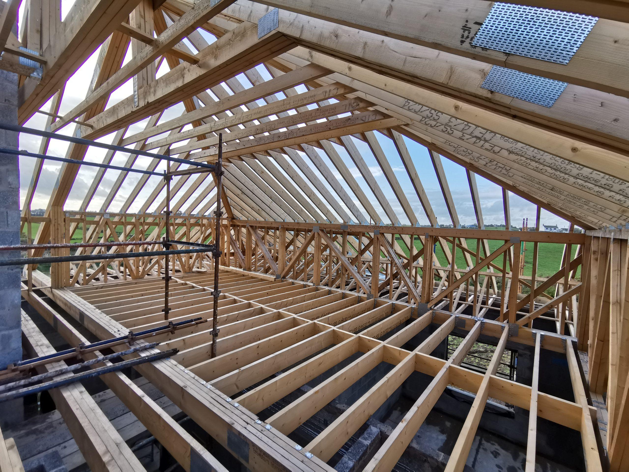 Attic Roof Trusses Murdock Roof Trusses Northern Ireland Dublin